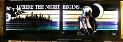 Bar - Night Club - Mirror - Man Cave - Game Room - Art - One Of A Kind