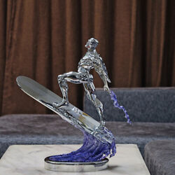 IN STOCK only 8 magic four hand silver smooth real electroplated silver surfer