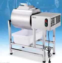 Stainless Steel Meat Salting Machine Meat Poultry Tumbler Machine 25L T $953.99