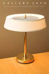 MID CENTURY MODERN KARL SPRINGER KOCH & LOWY SLEEK DESK LAMP! GOOD DESIGN! 1960S