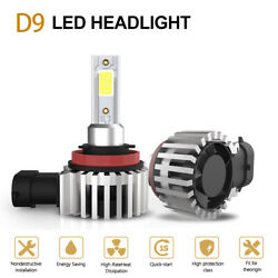 TURBOSII H11 LED Headlight Kit Low Beam Bulb Super Bright 13200LM 6500K White