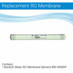 Brackish Water RO Membrane Element-BW-4040 Commercial Reverse Osmosis RO