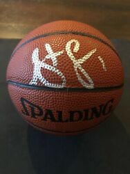 STEVE FRANCIS Autographed SIGNED SPALDING GAME BALL ROCKETS MINI Basketball $29.99