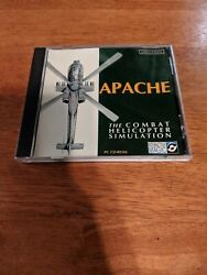Apache The Combat Helicopter Simulator PC CD Interactive Magic $7.99