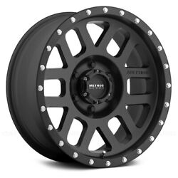 Method Race Wheels 306 MESH Wheels 17x8.5 (0 5x114.3 83) Black Rims Set of 4
