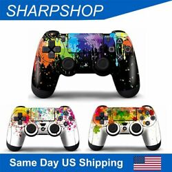 Protective Vinyl Skin for PS4 Controller Playstation 4 Gamepad Sticker Decal