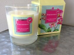 Portmeirion Exotic Botanic Garden Moth Orchid Scent Candle 6.7 OZ Glass Jar Box
