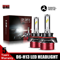 TURBOSII H13 LED Headlight Bulb 2-Side 12000LM 60W For 2007-2017 JEEP Patriot