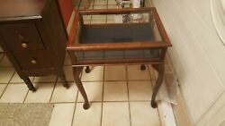 Antique Display Table or Glass Display Case