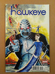 ALL NEW HAWKEYE V.2 #1 JEFF LEMIRE 1:10 quot;KIRBYquot; VARIANT COVER NM 1ST PRINTING C $7.99