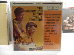 THE GOLDEN HITS OF THE EVERLY BROTHERS STEREO LP  $6.97