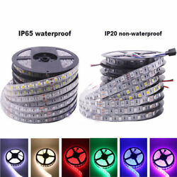 Bright 12V 5M 16.4ft 5050 RGB Waterproof SMD 300 LED Flexible Strip light $13.99
