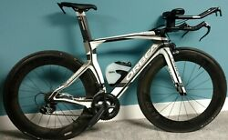 ORBEA ORDU GOLD TRI BIKE  CARBON size Small with extras!
