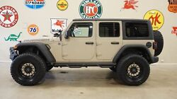 2018 Jeep Wrangler JL Unlimited Rubicon 4X4 DUPONT KEVLARLIFTEDNAVHTD LTH 2018 Tan Rubicon 4X4 DUPONT KEVLARLIFTEDNAVHTD LTH!