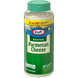 NEW KRAFT 100% GRATED PARMESAN CHEESE 24 OZ BOTTLE FREE EXPEDITED SHIPPING