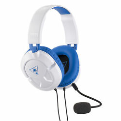 Turtle Beach Ear Force Recon 60P White Amplified Gaming Headset PS4 $19.95