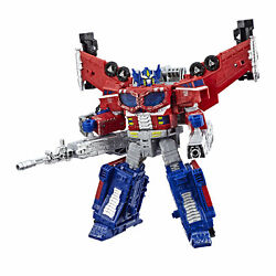 Cybertron Leader WFC-S40 Galaxy Upgrade Optimus Prime Action Figure - Siege