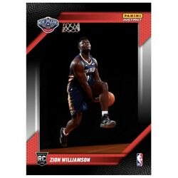 2019 Panini Instant ZION Williamson First Look RC Draft Rookie Photo Shoot 🔥🔥