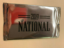 2019 Panini National Convention Silver THICK Pack SEALED Unopened Jersey Auto