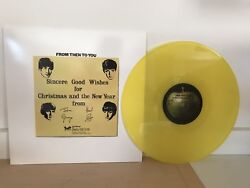 BEATLES - CHRISTMAS ALBUM - FROM THEN TO YOU - BRAND NEW 180G YELLOW VINYL LP