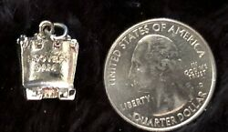 Fun Vintage Tiny Hoover Dam Sterling Silver Charm