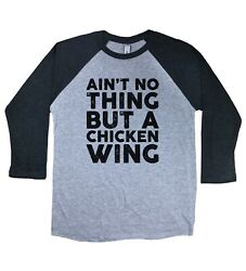 Outkast Inspired T-Shirt Ain't No Thing But A Chicken Wing Unisex Raglan Tee