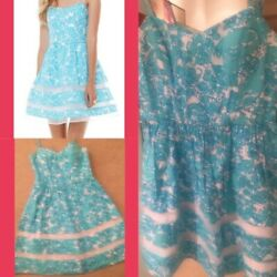 Lilly Pulitzer Ollie Dress She's A Fox NWOT size 8