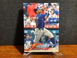 2018 Topps Complete Set RONALD ACUNA JR Braves rc #698 ROOKIE Factory Variation