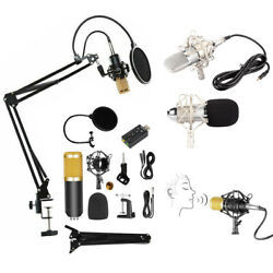 Professional Studio Condenser Microphone Kit Recording Broadcasting Shock Mount $19.99