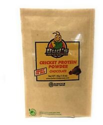 Bud's  Cricket Power! Chocolate. Ready to Mix! Single Serving Sample (45g)