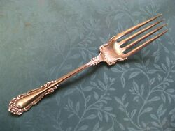Antique C Rogers Silverplate Fish Serving Fork CHELSEA MILTON 1897   8.75