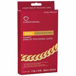 Connoisseurs Gold Polishing Cloth 11 X 14 Inches Home & Kitchen