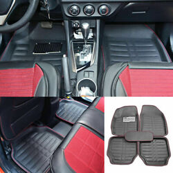 Auto Floor Mats for Rubber Liners Black Heavy Duty All Weather for Car 5pc Set $35.90
