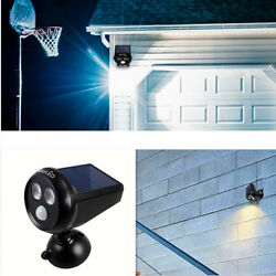 Flood Light Motion Sensor Wall Light Waterproof 2 LED Solar Outdoor Light