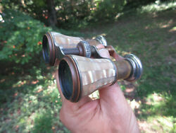 Antique Vintage Chevalier Opera Glasses M.O.P. Mother of Pearl made in France