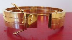 !!! Antique French 18K Yellow Gold  Braslet 40 g !!!