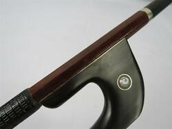 profession Pernambuco Carbon fiber double bass bowcopper mounted