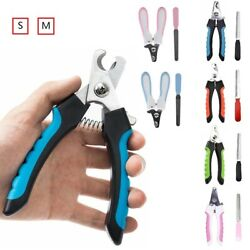 Dog Nail Clippers Professional Heavy Duty with Quick Sensor and Protective Guard $12.99