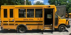 2012 Chevy Bluebird Cutaway Wheelchair School Bus Auto Gas 127240 Miles #112