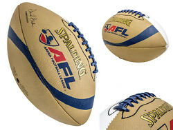 Spalding AFL Arena Football League Autograph Leather Full Size Football $17.99