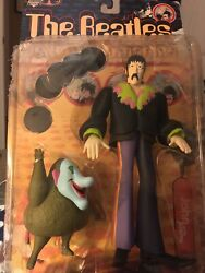The Beatles Yellow Submarine Figure John with Jeremy NEW -McFARLANE TOYS 1999