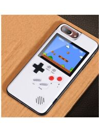 iPhone 678 Retro HD Color Game Boy Rechargeable Phone Case New Real Playable