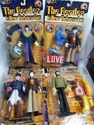 The Beatles Yellow Submarine Figure Lot of 4 Mcfarlane 1999 Brand New! RARE!
