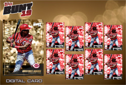 2019 FREE PACK FRIDAY GOLD + 8X BASE ARISTIDES AQUINO Topps Bunt Digital Card
