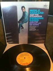 MERLE HAGGARD AND THE STRANGERS Swinging Doors wEX VINYL (SM-2585)