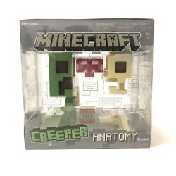 Minecraft Brand New in Box Creeper Anatomy Large 8