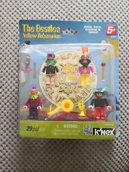 The Beatles Yellow Submarine Knex Figures Brand New In Box.