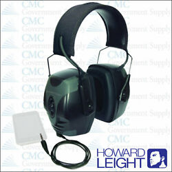 Howard Leight R-01902 Impact Pro Electronic Earmuff BLACK with Cord