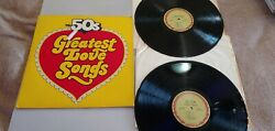 The 50s Greatest Love SongsThe 50s Golden Hits to Remember 2 Vinyl Record LP