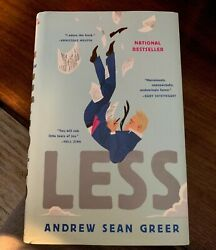 Less by Andrew Sean Greer (2017 Hardcover)